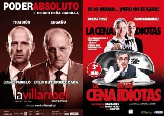 carteles vicios italianos y teatros talia y olympia